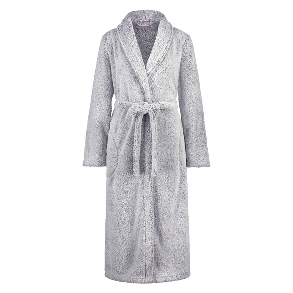 Hunkemöller Fleece-Bademantel lang