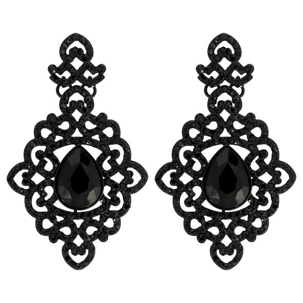 Ohrstecker - Black Ornament