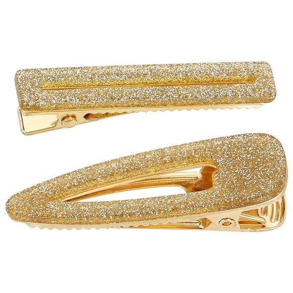 Haarspangen-Set - Gold Glam