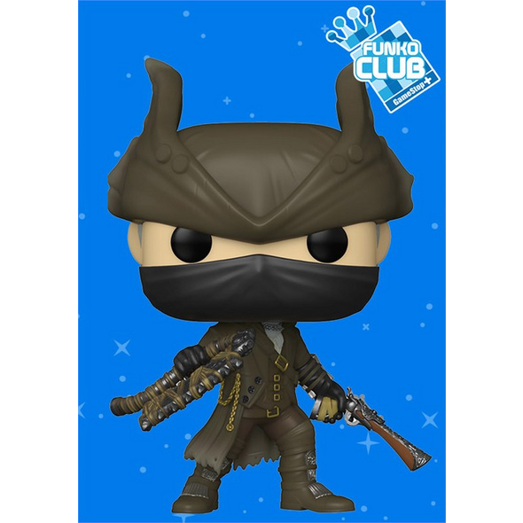 Bloodborne - POP!-Vinyl Figur The Hunter (Funko Club exklusiv!)