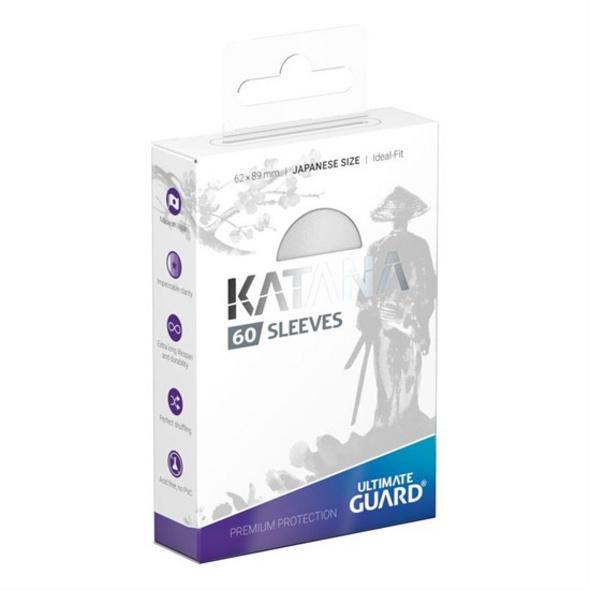 Ultimate Guard Katana Sleeves Japanische Größe Weiß