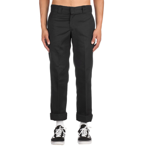 Slim Straight Work Pants