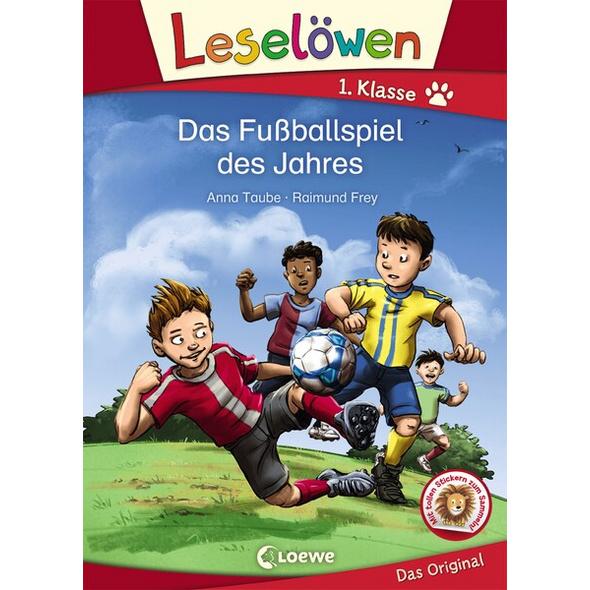Leselöwen 1. Klasse - Das Fußballspiel des Jahres
