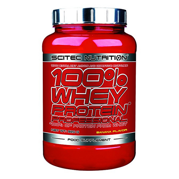 Scitec Nutrition 100% Whey Protein Professional 920g-Honig Vanille