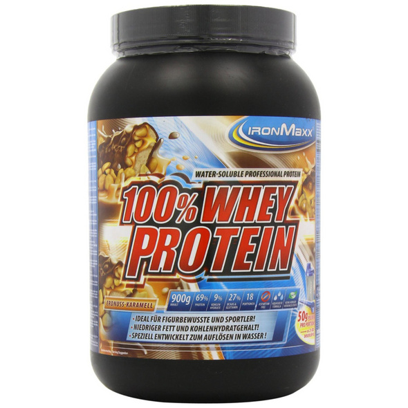 IronMaxx 100% Whey Protein 900g-Latte Macchiato