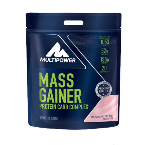 Multipower Mass Gainer 5440g-Strawberry Splash