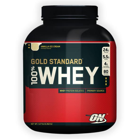 Optimum Nutrition 100% Whey Gold Standard 2270g-Vanilla-Icecream