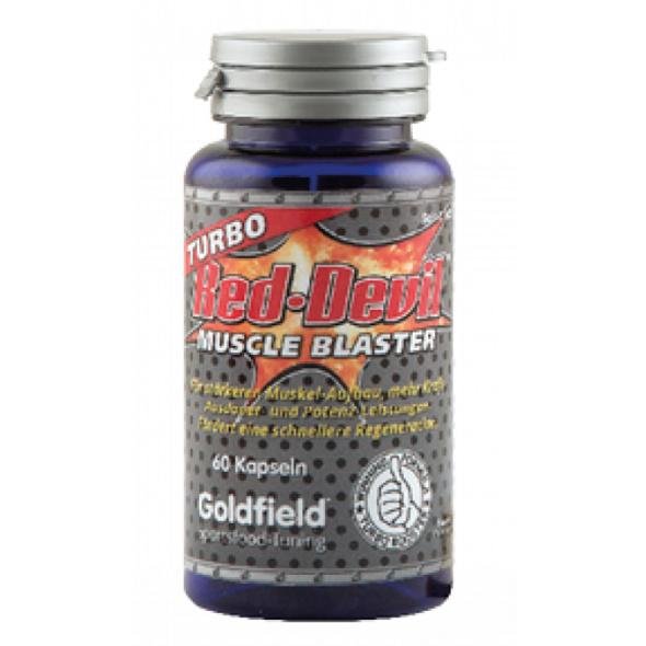 Goldfield Turbo Red Devil Muscle Blaster 60 Kapseln