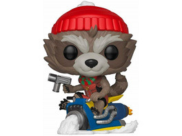 Marvel - POP!- Vinyl Figur Feiertags Rocket