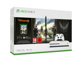 Xbox One S Konsole 1TB inkl. Tom Clancy's: The Division 2 (Warehouse Ware - Top)