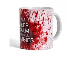 Kill Zombies Tasse