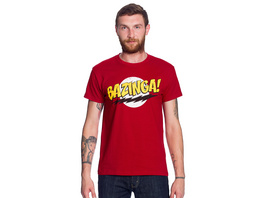 Big Bang Theory - Bazinga Full Size T-Shirt rot
