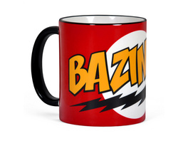 Big Bang Theory- Bazinga Full Size Tasse rot