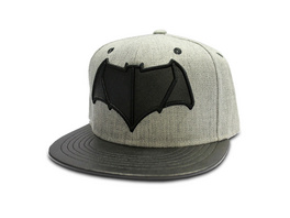 Batman v Superman - Logo Snapback Cap grau