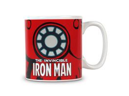 Iron Man - Marvel Thermoeffekt Tasse