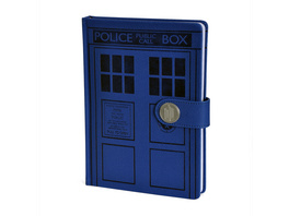 Doctor Who - Tardis Premium Notizbuch A5