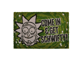 Rick and Morty - Get Schwifty Fußmatte