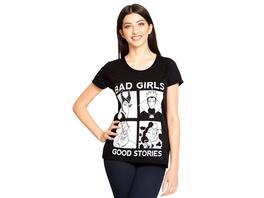 Disney - Villains Bad Girls T-Shirt Damen Loose Fit schwarz