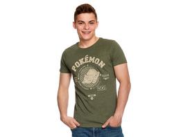 Pokemon - Bisasam T-Shirt grün