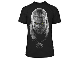 Witcher - Poisoned Geralt Glow in the Dark T-Shirt schwarz