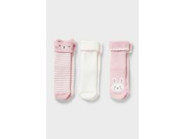 Baby-Socken - Winter - 3 Paar
