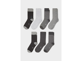 Multipack 7er - Socken - Bio-Baumwolle