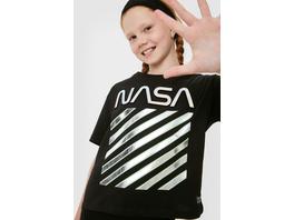 NASA - Set - Kurzarmshirt und Haarband - 2 teilig