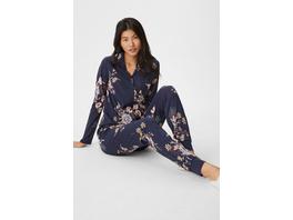 Pyjama - geblümt