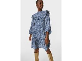 A-Linien Kleid - geblümt