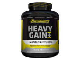 Sportnahrung.de Heavy Gain - der Top Weight Gainer angereichert mit Creatin. Glutamin. Vitaminen und MCT Vanille. 2000 g