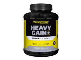 Sportnahrung.de Heavy Gain - der Top Weight Gainer angereichert mit Creatin. Glutamin. Vitaminen und MCT (Haselnuss). 5000 g